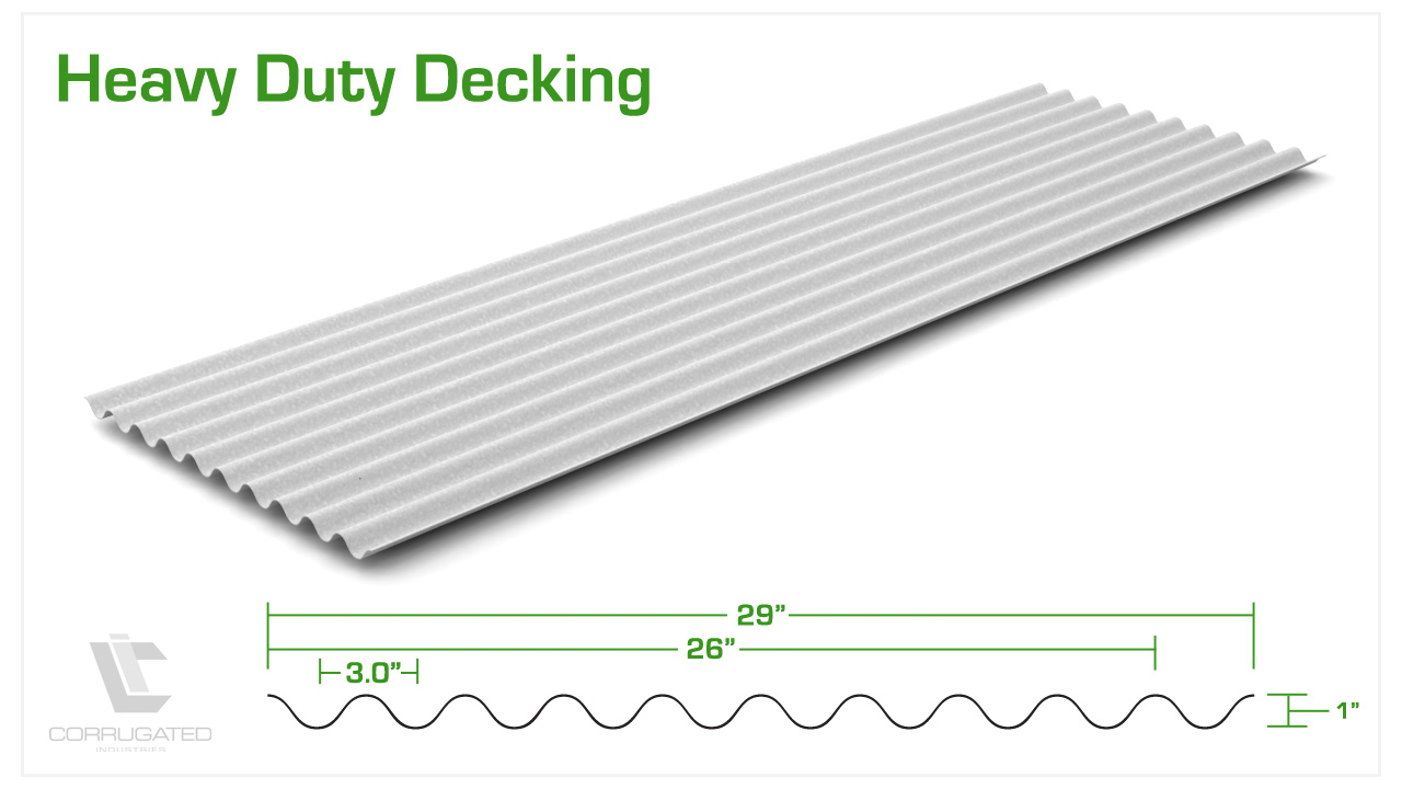 Heavy Duty Decking